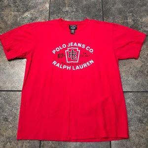 VTG Polo Jeans Co. Ralph Lauren S/S T-Shirt Size M